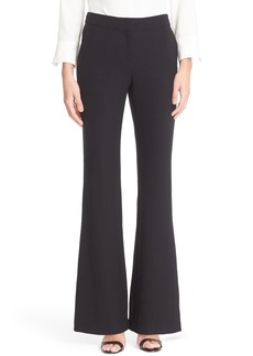 Lafayette 148 New York Kenmare Stretch Wool Flare Leg Pants