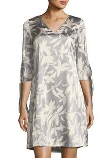 Lafayette 148 New York Kenna Floral-Silk Shift Dress