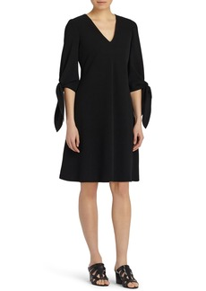 Lafayette 148 New York Kenna Tie Sleeve Fit & Flare Dress