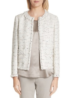 Lafayette 148 New York Kennedy Tweed Jacket