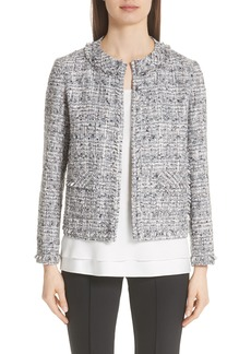Lafayette 148 New York Kennedy Tweed Jacket (Nordstrom Exclusive)