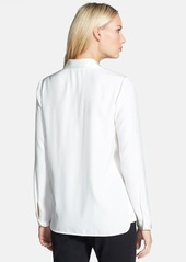 Lafayette 148 New York 'Kenzie' Silk Blouse (Regular & Petite)