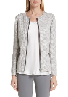 Lafayette 148 New York Kerrington Tweed Jacket