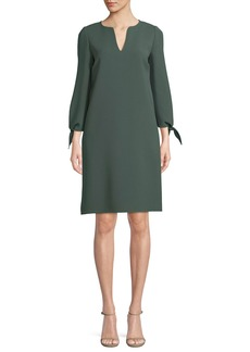 Lafayette 148 New York Khloe Finesse Crepe Shift Dress