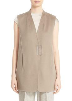 Lafayette 148 New York 'Kingsley' Cashmere Vest