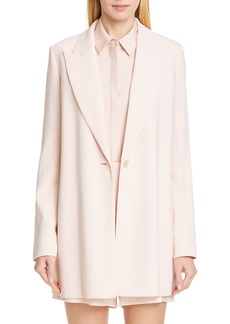 Lafayette 148 New York Kourt One-Button Jacket