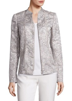 Lafayette 148 Kyla Floral Jacquard Jacket