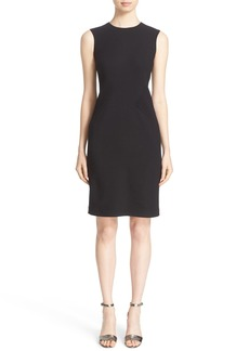 Lafayette 148 New York 'Laina' Luxe Italian Double Face Dress with Waist Combo