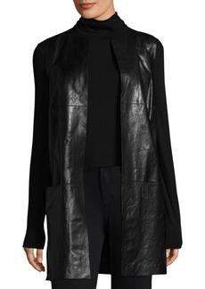 Lafayette 148 New York Laritza Leather Vest