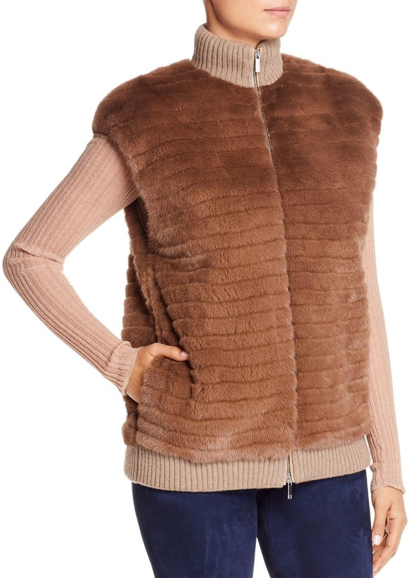 Lafayette 148 New York Larkin Mink Fur Vest