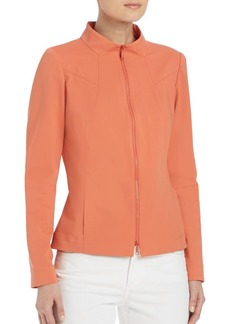 Lafayette 148 New York Laura Zip-Up Jacket