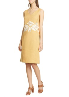 Lafayette 148 New York Laurie Embellished Shift Dress