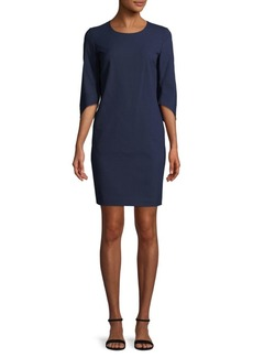 Lafayette 148 Miriam Wool-Blend Sheath Dress