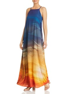 Lafayette 148 New York Leonissa Printed Maxi Dress