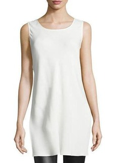 Lafayette 148 New York Letty Sleeveless Silk Tunic Top