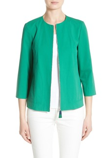Lafayette 148 New York Levine Cotton Blend Jacket