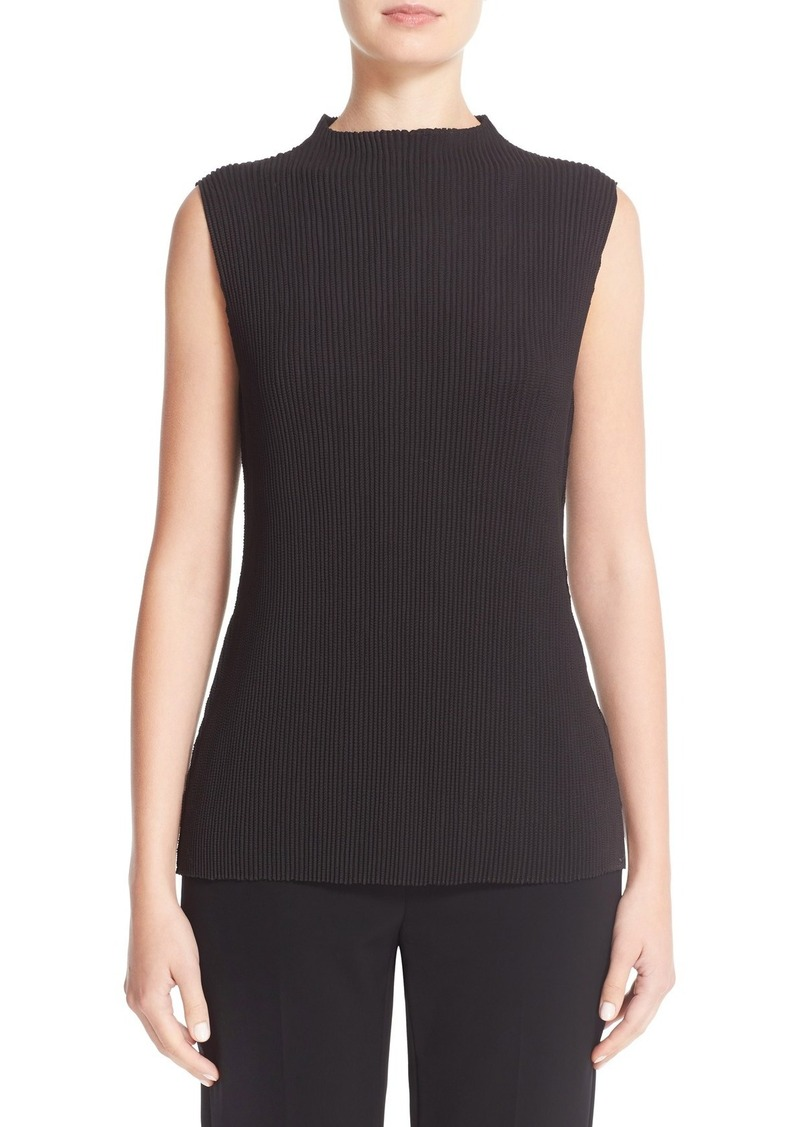 Lafayette 148 New York 'Lexa' Gallery Pleated Blouse (Nordstrom Exclusive)