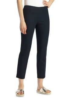 Lafayette 148 New York Lexington Stretch Cotton Crop Pants