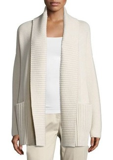Lafayette 148 New York Link-Stitch Wool-Blend Cardigan