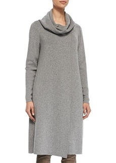 Lafayette 148 New York Long Cowl-Neck Sweater