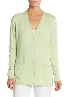 Lafayette 148 New York Long Knit Cardigan
