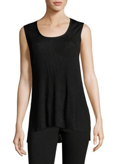 Lafayette 148 New York Long Ribbed Tank Top