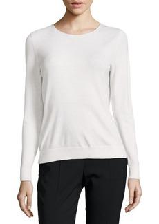 Lafayette 148 Long-Sleeve Wool Top