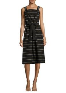 Lafayette 148 New York Lorelei Cotton Knee-Length Dress