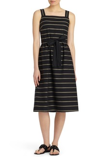 Lafayette 148 New York Lorelei Vesterbro Stripe Dress