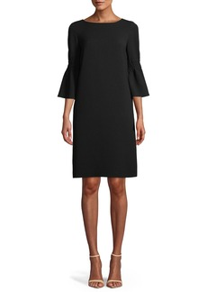 Lafayette 148 New York Lorelie Finesse Crepe Shift Dress
