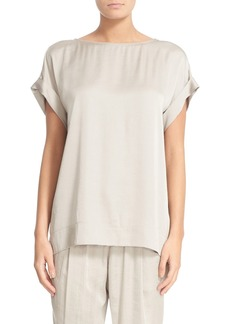 Lafayette 148 New York Lori Luminous Cloth Blouse