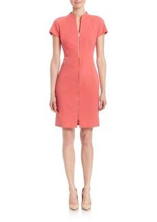 Lafayette 148 New York Lottie Zip-Front Dress