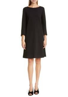 Lafayette 148 New York Lotus Punto Milano Shift Dress