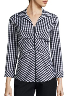 Lafayette 148 New York Lucille Cotton Blouse