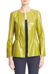 Lafayette 148 New York Lucina Leather Jacket
