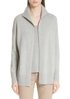 Lafayette 148 New York Luxe Merino Wool & Cashmere Sweater Jacket (Nordstrom Exclusive)