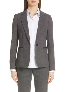 Lafayette 148 New York Lyndon Stretch Wool Blazer (Nordstrom Exclusive)