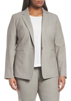 Lafayette 148 New York Lyndon Stretch Wool Blazer (Plus Size)