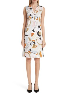 Lafayette 148 New York Lyrical Curves Shirtdress