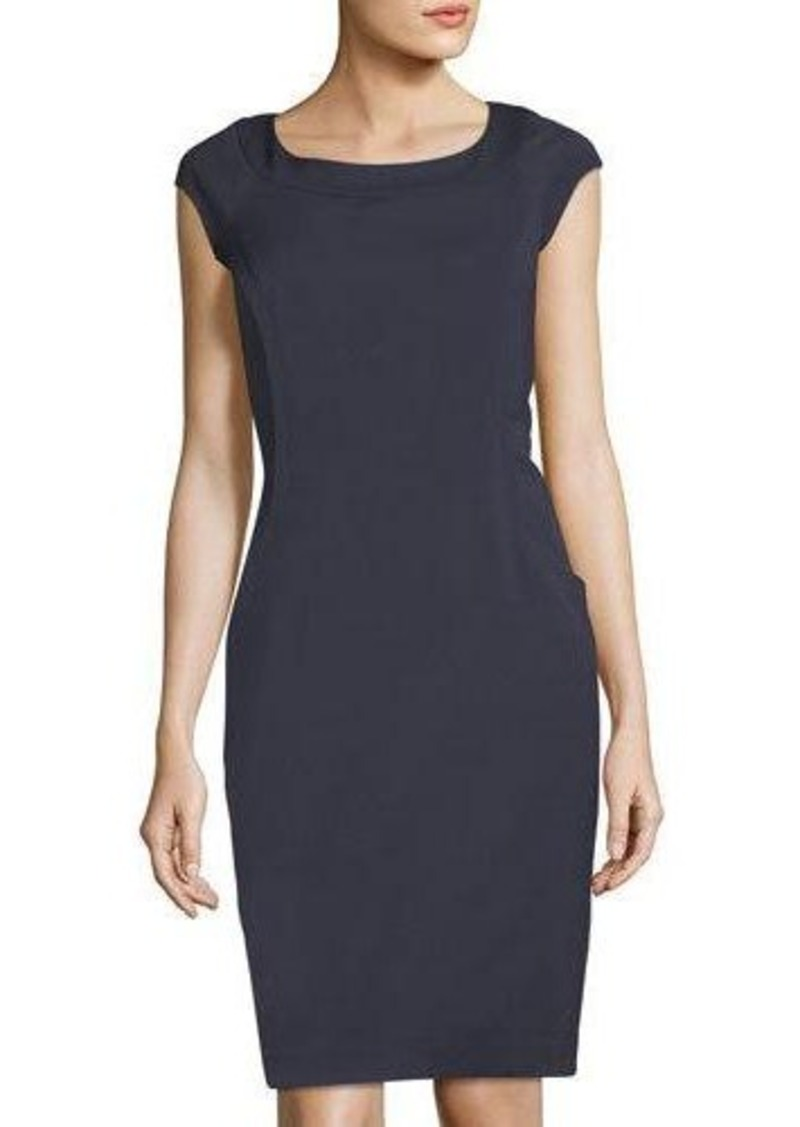 9ba0a6583be1 Lafayette 148 Lafayette 148 New York Maddy Wool-Blend Sheath Dress ...