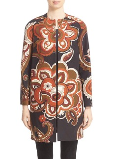 Lafayette 148 New York 'Makeda' Paisley Print Faille Jacket