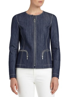 Lafayette 148 New York Malia Mariners Cloth Jacket