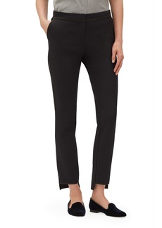 Lafayette 148 New York Manhattan Acclaimed Stretch Step Hem Slim Pants
