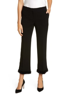 Lafayette 148 New York Manhattan Bead Trim Pants