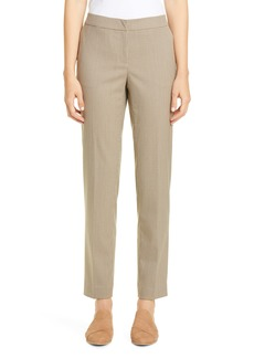 Lafayette 148 New York Manhattan Houndstooth Slim Pants