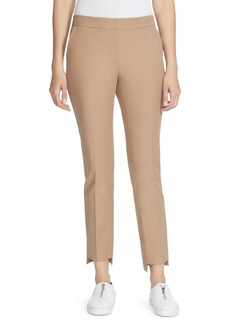 Lafayette 148 New York Manhattan Step Hem Slim Pants