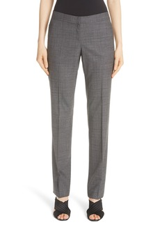 Lafayette 148 New York Manhattan Stretch Wool Slim Pants (Nordstrom Exclusive)