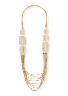 Lafayette 148 New York Marble Block Multi-Strand Necklace