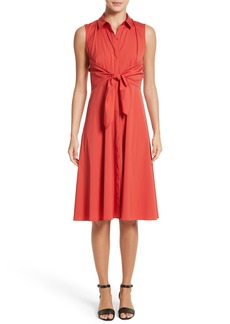 Lafayette 148 New York Mariel Knotted Shirtdress