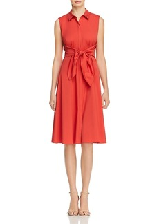 Lafayette 148 New York Mariel Sleeveless Shirt Dress